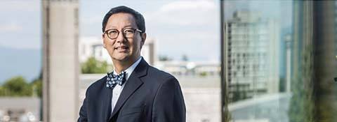Professor Santa Ono has been named as the 15th President and Vice-Chancellor of UBC